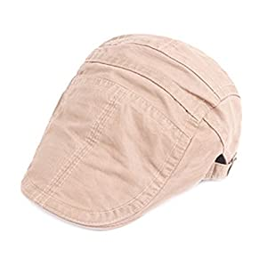 Funjoy Mens newsboy Cabbie Driving Hat Retro Peaked Hat Caps For Spring Summer 3