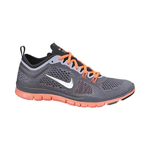 4 TR Free 0 Hallenschuhe Damen Grau Nike Neonorange 5 Fit UHqx7w