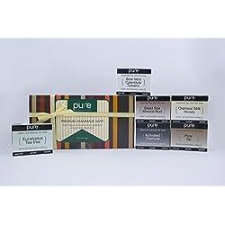 Essential Oil Handmade Soap Bar. Artisan Soap Bars Gifts for Men & Women! Cold Process Soap Bars in Luxury Gift Box! (Goat Milk Artisan Soap + Essential Oil Aromatherap)