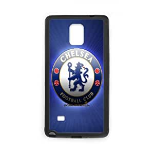 Chelsea FC Samsung Galaxy Note 4 Cell Phone Case Black yyfD-343795