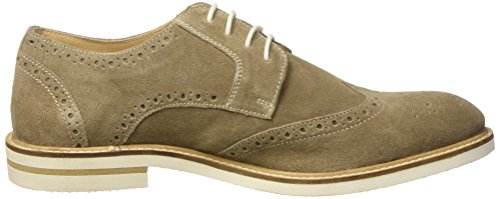 Lumberjack Alonso - zapatos Brogue Hombre Beige