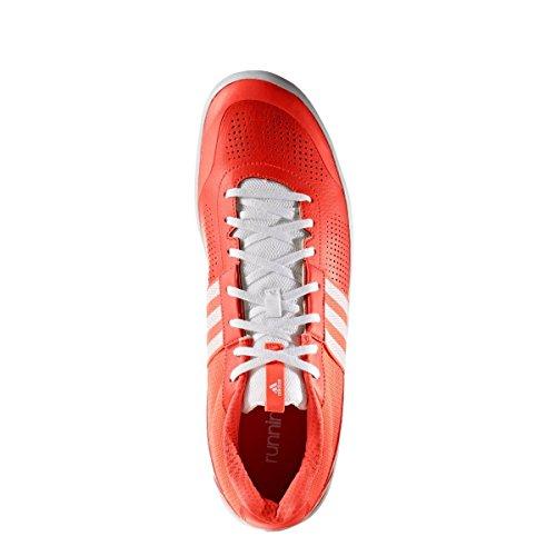 adidas throwstar - Zapatillas de running para Hombre, Rojo - (ROJSOL/FTWBLA/ROJSOL) 49 1/3