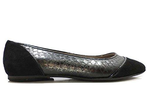 Chaussures Femme EDDY DANIELE 37 ballerines ivoire Noir AV415