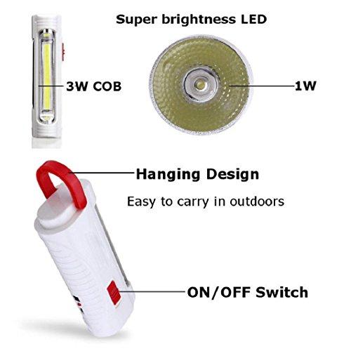 Sisit 600mah D'énergie Solaire Lampe Usb Led Batterie Rechargeable lTKJ1cF