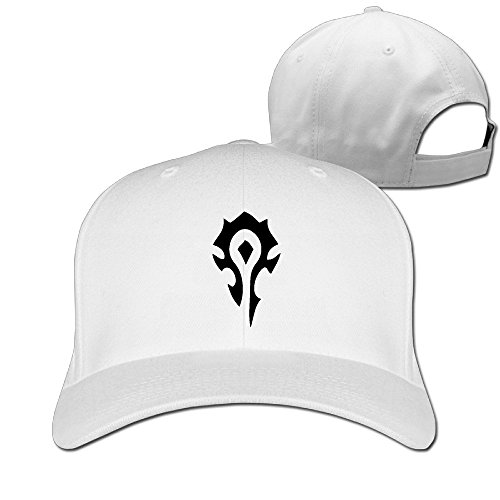 BestSeller World Of Warcraft The Horde Symbol Adjustable Sandwich Peaked Baseball Cap/Hat For Unisex
