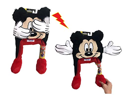 Disney Mickey Mouse Flipeez Squeeze and Flap Winter Hat (Mickey Mouse)