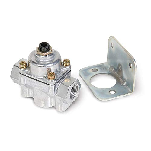 - Holley 12803BP Carbureted Bypass 2 Port Fuel Pressure Regulator w/ 4.5 to 9 PSI