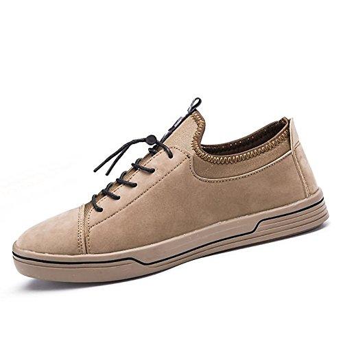Uomo shoes Mocassini Shufang Khaki shoes Shufang xqFIgZ