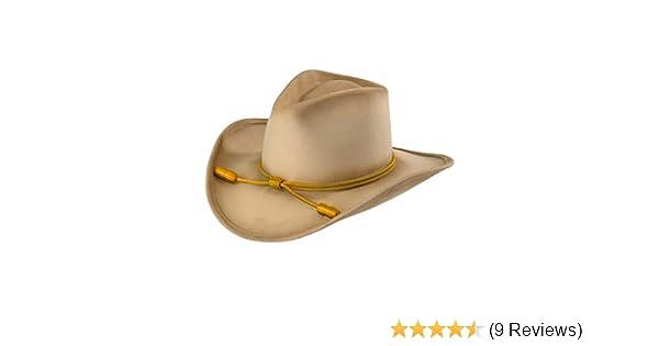 Amazon.com  RESISTOL Men s John Wayne Hondo Cavalry Hat Silverbelly Large   Clothing ef0022cb8721