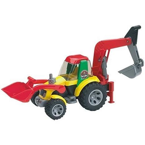 amazon com roadmax loader backhoe toys games