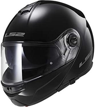 Amazon.es: LS2 Casco Moto FF325, Negro, XXS