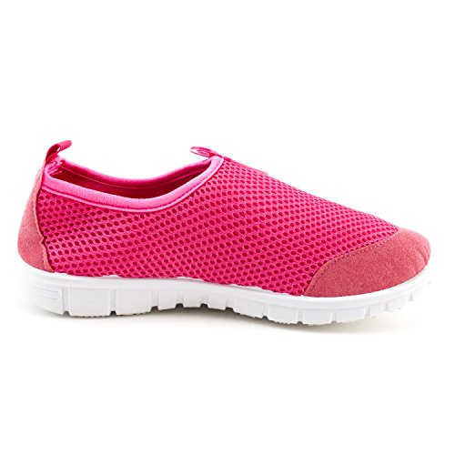 Resistant Neon Outdoor Fuchsia Beach 6 Womens Creek Water Water Pool Shoes 5pUnc8R
