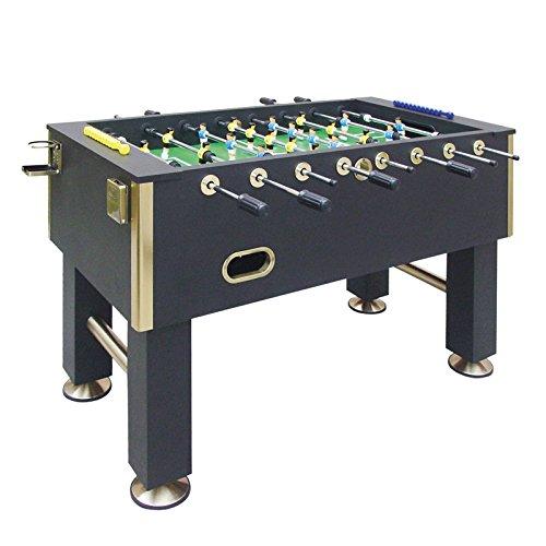 Dema Tischfussball Gold Edition, schwarz 70129