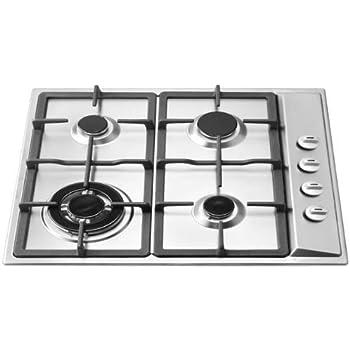ramblewood high efficiency 4 burner natural gas cooktop sealed burner gc450n