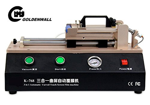 3 in 1 Automatic Curved Touch Screen OCA Film Laminating Machine for S6 S7 Edge Plus Laminator for Curved - Tbk Edge