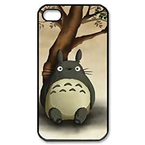 Anime My Neighbor Totoro iPhone 4/4s Case Hard iPhone 4/4s Back Cover Case by Maris's Diaryby Maris's Diary