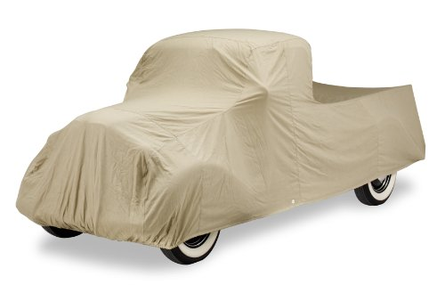 Covercraft Custom Fit Car Cover for Chevrolet and GMC (Tan Flannel Fabric, Tan)
