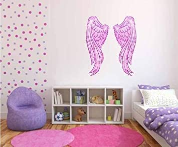 60 Second Makeover Limited Full Colour Pink Angel Wings ...