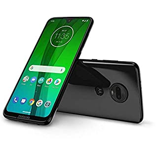 "Motorola Moto G7 Power, Dual SIM 6.2"" (GSM Only) Factory Unlocked US & Global 4G LTE International Model XT1955 (Black, 64GB + 64GB SD Bundle)"