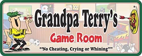 Personalized Darts Game Room Man Cave Bar Room Sign - Fun Sign Factory Original