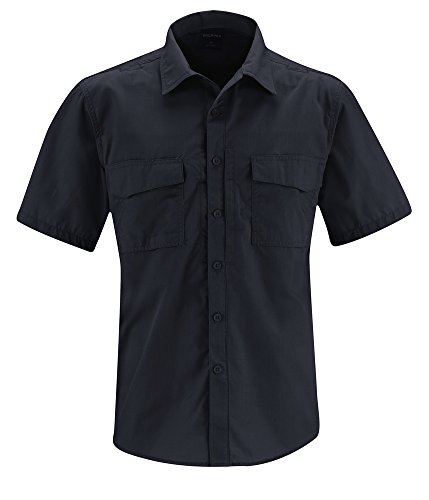 Propper Men's REVTAC ShirtShort Sleeve Shirt, LAPD Navy, Large