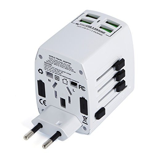 MLPC Accessories Worldwide Universal International Travel Adapter With 4...