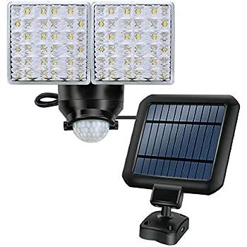 Amazon Com Solar Led Security Light Stasun Dual Head