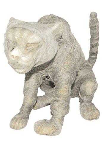 Mummy Cat Prop (Mummy Cat Halloween Prop)