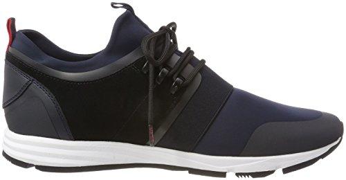 Glissement Hugo Herren De Hybrid_runn_mxsc1 Sur Sneaker Blau (bleu Foncé 401)