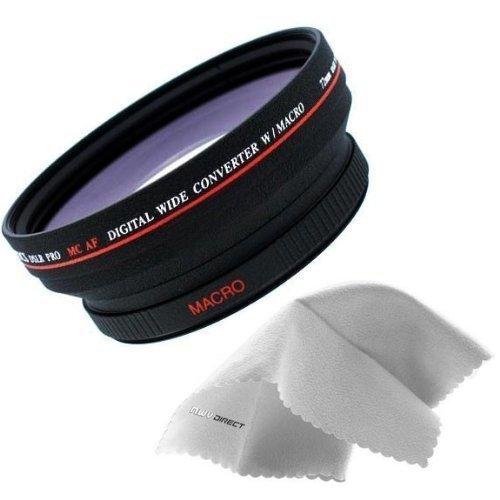 ソニー サイバーショット DSC-HX1 は0.5倍の高解像度広角レンズ (レンズアダプター付属)。   B07H2PX23S