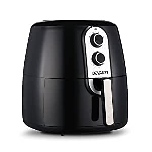 7L Oil Free Air Fryer - Black Innovative Cooking Less Fat Cooking Healthy Cooking