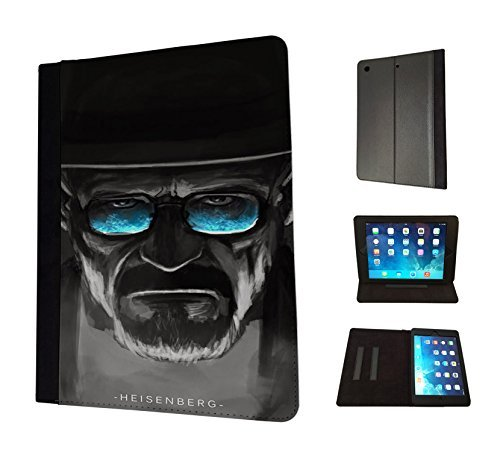 1235 - Cool Fun Trendy breaking bad cool sunglasses movie Design Apple ipad Air 2 - 2014/2015 Fashion Trend TPU Leather Flip Case Protective Purse Pouch Book Style Defender Stand - Trends 2014 Sunglass