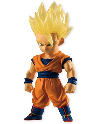 Dragon Ball Adverge 5 Super Saiyan Son Gohan Candy Toy Character Mini Figure Statue Collection Anime Art (Mini Arts Figure)