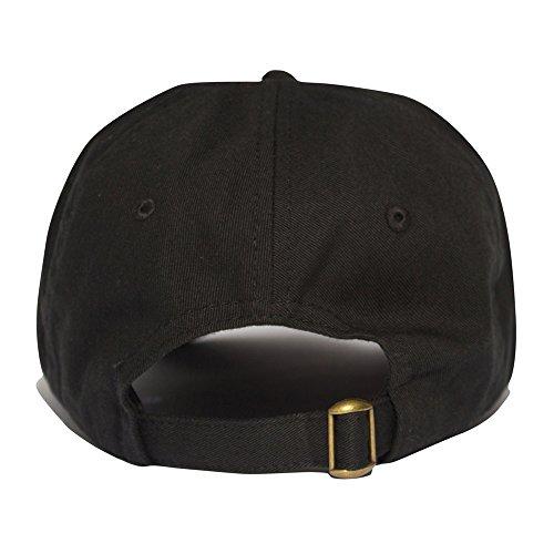 negro Uptop para Gorra de Talla Studios hombre negro béisbol única x5r0Iwrqn