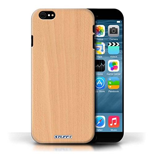 Hülle Case für Apple iPhone 6/6S / Buche Entwurf / Holz/Holzmaserung Muster Collection