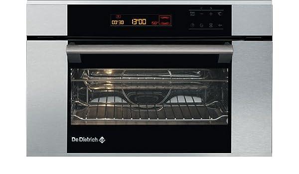 De Dietrich DME788X, 220-240 V, 50/60 Hz, 16 A, Plata/Negro, 560 x ...