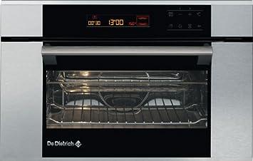 De Dietrich DME788X, 220-240 V, 50/60 Hz, 16 A, Plata/Negro, 560 x 550 x 380 mm - Microondas: Amazon.es: Hogar
