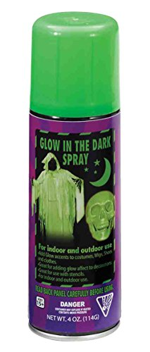 Hair Costumes In Spray Color (F68533 (4oz) Glow In The Dark Spray)