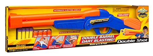 Buzz Bee Toys Air Warriors Over Under Double Shot Blaster