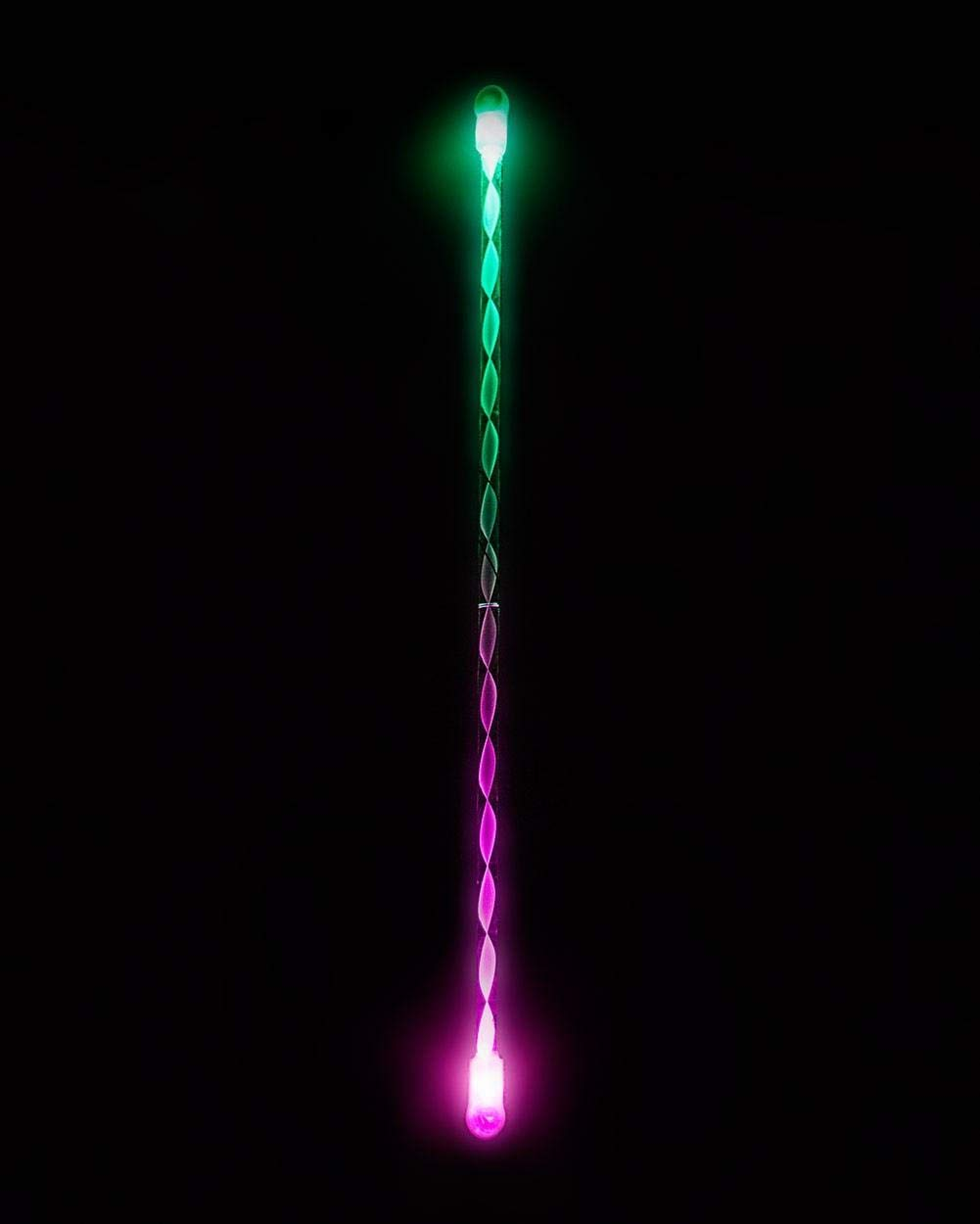 EmazingLights Elite Flow LED Light Up Levitation Wand - Short String Rave Toy