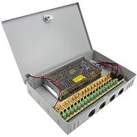 AGPtek DC 12V 18CH Power Supply Box for CCTV Security Camera Home Surveillance System