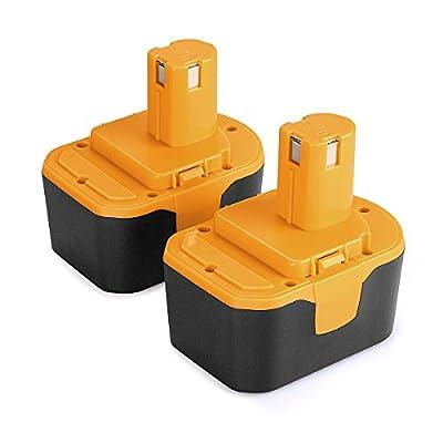 [Upgrade] ANTRobut 5000mAh 18volt P108 Ryobi 18V Lithium Battery Replacement for Ryobi 18-Volt ONE+ P104 P105 P102 P103 P107 P108 P109 Tool