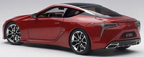 Amazon Com Lexus Lc500 Metallic Red 1 18 Model Car By Autoart 78848