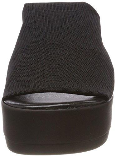 Steve Madden Slinky Sandal, Sandalias con Plataforma Para Mujer Schwarz (Black)