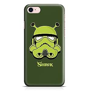 Loud Universe Vader Shrek iPhone 8 Case Darth Shrek iPhone 8 Cover with 3d Wrap around Edges