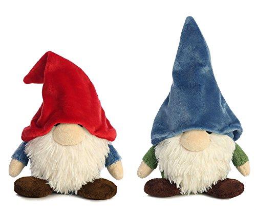 Woodland Gnome (Bundle of 2 Aurora Gnomlins Stuffed Animals - Tinklink & Mekkabunk)