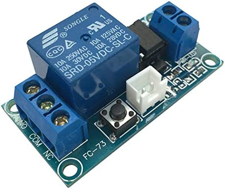 Relay Module Science Supplies One Channel DC 5V Latching Relay Module With Touch Bistable Switch MCU Control