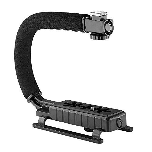 Neewer Stabilizing Bracket Camcorders Cameras Black