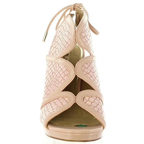 MARIA MARE Zapatos de Tacón de Mujer 66816 C32740 Charol Nude