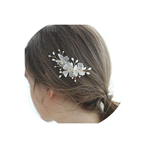 (Wedding Hair Pins Charming Design Silk Chiffon Flower Accessories Party Dress Custom Bobby Pin Headpiece Bridal Hair Clip)